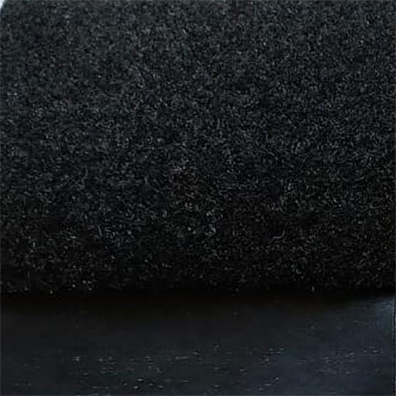Ковролин ламинированный черный-графит